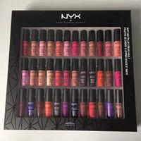 Nyx macio mate laber creme 36pcs nyx batom labelo gloss fosco sem desvanecimento macio veludo lip maquiagem 36 cores conjunto