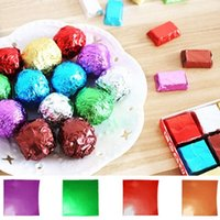 100Pcs lot Crepe Paper Sheets Candy Sugar Chocolate Sweets C...
