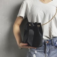 Spalla Moda Velvet singolo sacchetto di trucco Carino Mini Bow benna per le donne all'aperto Crossbody Borsa molti colori 15cx ZZ