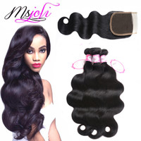 Peruvian Virgin Human Hair Weave Unprocessed Body Wave Natur...