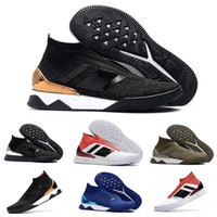 High Quality Brand mens Sports Shoes Predator Tango 18+ TR b...