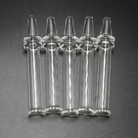 Новый стиль стекла Ручной Трубы Мини стекла Ручной трубы 4 дюйма Очистить фильтр Советы тестер Курительные трубки Курительные принадлежности