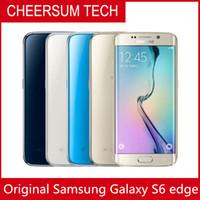 Desbloqueado Original Samsung Galaxy S6 BORDA G925A G925F S6 Borda Octa Núcleo Celular 3G4G 16 MP Camera 5.1 '' Telefone Recuperado
