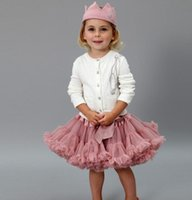 Lovely Girls Tutu Skirt Fluffy Children Ballet Kids Pettiski...