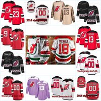 New Season New Jersey Devils Jersey 62 Xavier Bernard 8 Will Butcher 73 Jocktan Chainey 2 Eric Gryba 6 Andy Greene Hockey Jerseys