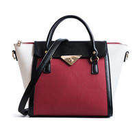 New Wings Bag Women Leather Handbags Female Fahsion Panelled...