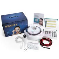 Starke Leistungs-Diamant-Dermabrasions-Maschine 3 in 1 Microdermabrasion für die Haut, die Face lifting Gesichtsschönheits-Ausrüstung abzieht