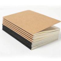 80 صفحة من دفاتر دفتر يومية السفر دفتر فارغ من ورق الكرافت كتاب ورقي للمفكرة الورقية الناعمة الرجعية للطلاب.