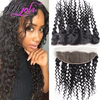 Malaysian Human Hair 13x4 Lace Frontal Ear To Ear Closure De...