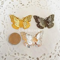 Оптовая продажа-37 * 50mm Metal Craft Buerfly Bookmark Jewelry Украсьте DIY Scrapbooking Embellishments