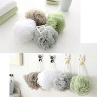 Soft Bath Shower Sponge Pouf Loofahs Mesh Brush Shower Ball ...
