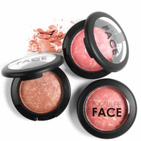 FOCALLURE Make Up Blushes Face Bronzer Blushes Powder Cosmetic Натуральный базовый макияж Highlighter Face Contour Blush Maquiagem