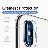 Caméra objectif en verre trempé Film 9H HD Anti Scratch Film de protection pour iPhone XS XS XR max X