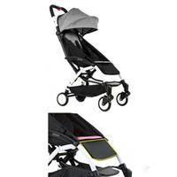 Cochecito liviano Ligero Cochecito de bebé 175 Grado Plegable Ultra-Luz Viaje portátil BabyZen Carro Bebek