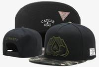 Hot Fashion Brand New Regolabile Cayler Sons Bone Hiphop Snap Back Snapback Baseball Sport Pallacanestro Cappellini per uomo e donna