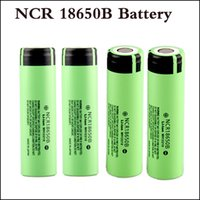 100% de qualité supérieure NCR18650B batterie 3.7V 18650 batterie au lithium Li-on cellule 3400mAh top Vape au lithium 18650 batterie