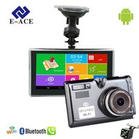 E- ACE 5 Inch Car GPS Navigation Android Capacitive Screen Bl...