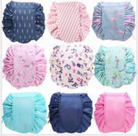 NUEVO organizador multi con cordón bolsa de cosméticos de viaje bolsa de almacenamiento con cordón haz mágico bolsa de artículos de aseo caja de lavado bolsa envío gratis