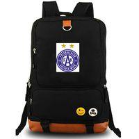 FK Austria Wien mochila bolsa de día fresco paquete de la escuela de fútbol del club de fútbol del equipo packsack Calidad mochila mochila mochila deporte al aire libre