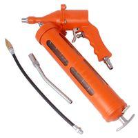 ensemble professionnel 400CC pneumatique Air pistolet à graisse, puissants outils de graisse de l'air fixés