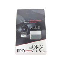 2019 BEST VERKAUFEN 256GB 128GB 64GB 32GB Klasse10 pro Ausdauer TF-Speicherkarte mit kostenlosem SD-Adapter-Blisterpaket
