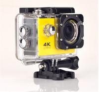 """Действие камеры F60 видеокамеры 4K HD 1080P спорт WiFi 2.0 """" 170D шлем Cam подводный go водонепроницаемый pro камеры"""