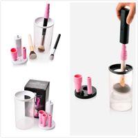 El más nuevo cepillo de maquillaje limpiador Secador de máquina Lavado Cepillos de limpieza maquillaje cepillos Kit de herramientas de limpieza Cepillos de maquillaje de limpieza eléctrica para todos los S