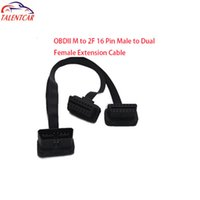 2015 Sıcak satış Yüksek Kalite 16 pin OBD M 2F Uzatma kablosu düşük fiyat
