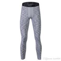 Livraison gratuite Fitness basket-ball masculin running formation pantalon compression élastique pantalon rapide collants de sport pantalons f11