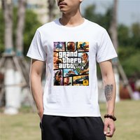 Summer New Fashion Funny T Shirts Men Grand Theft Auto GTA 5...