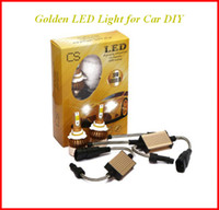 Golden C6 Car Headlights 72W 7600LM Lampadine a Led H1 H3 H7 9005 9006 H11 H4 H13 9004 9007 Automobili Faro 6000K ATP033