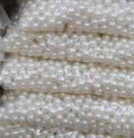 ABS Schmuck lose 8mm Perlen für Halsketten Baby Armbänder Perlen für Schmuckherstellung Perlen Schmuck China Kostenloser Versand
