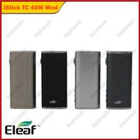 本物のEleaf Istick TC 40W BOX MOD ISMOKA 40W 2600MAH表示モード切替可能なインテリジェント温度制御