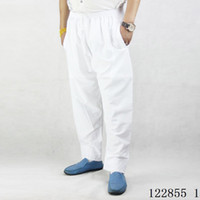 Pantaloni musulmani di nuova moda Pantaloni pregiati Pantaloni afghani Costumi arabi mediorientali Abaya Dubai Abbigliamento islamico in cotone Kaftan