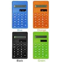 centechia мультфильм мини-калькулятор 8 цифр дисплей двойной источник питания симпатичные конфеты Calculadora Солнечный Hesap Calculatrice Solaire