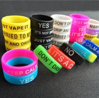 Colorido antideslizantes de anillos de silicona para cigarrillo e Mod banda de silicona Vapor anillos vape caucho e cig silicio banda vape