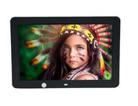 """Andoer 12 """"LED Digital Photo Frame 1280 * 800 movimento humano de detecção de indução MP3 MP4 calendário com controle remoto LLFA"""