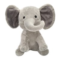 Comodo e morbido e bello Cartoon Peluche Elephant Baby Sleep Friends Carino e caldo Bedtime Doll