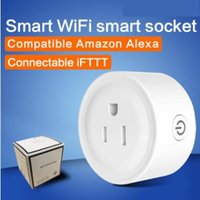 Voice WiFi intelligent socket cell phone timing switch socke...