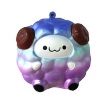 Starry Sky Color squishies Squee Soft Sheep Cartoon Squishy Lento Levantamiento Squeeze Toy anti stress brinquedo novedades