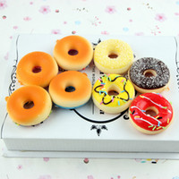 holesale squishy 12pcs New Kids Toys Colorful Donut Squishy ...