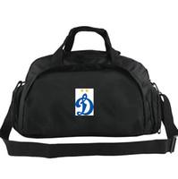 Saco de lona do Dínamo de Moscou Número 1 tote do clube de Ginástica mochila de Futebol de bagagem de Exercício ombro duffle Ao Ar Livre sling pack