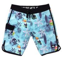 Elastane spandex bermudas rayé shorts hommes Beachshorts shorts de pantalons de pantalons de pantalons de surf sèches rapides de bain maillot de bain maillot de bain natation
