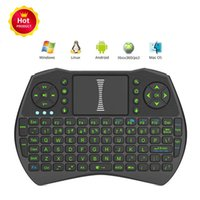 Wireless Mini Keyboard Rii I9 Backlight Fly Mouse Multi- Medi...