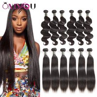 6pcs lot Onlyou Human Hair Weaves Bundles Mink Brazilian Vir...