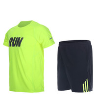 Men Sport Suits Quick Dry Basketball Soccer Training Tracksu...