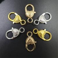 26.5*13.5 мм любовь Shaped Омаров Застежка ожерелье браслет крюк Fings поручни для кулон DIY ювелирных изделий Поиск