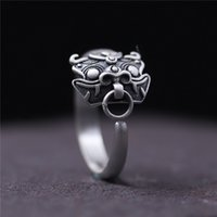 925 sterling silver ring vintage Thailand silver coin ring o...