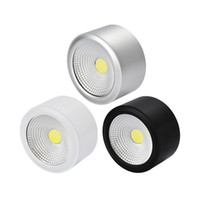 Surface Mounted 7W 10W 15W COB downlight COB thin ceiling sp...