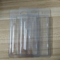 Clamshell de plástico concha de almeja envases de plástico de 0,5 ml 1,0 ml de aceite de Vape cartuchos 92A3 G2 th205 vapor de embalaje 510 Vape Cesta de embalaje